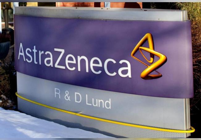 La entrada de la planta del gigante farmacéutico anglo-sueco AstraZeneca en Lund, Suecia, EFE/DRAGO PRVULOVIC/PROHIBIDO SU USO EN SUECIA/Archivo