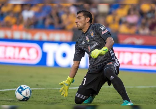 Nahuel Guzmán, portero de Tigres. EFE/Miguel Sierra/Archivo
