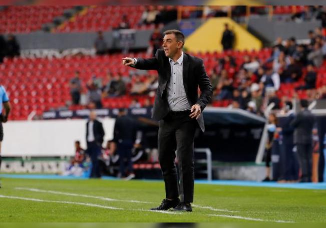 El entrenador Pablo Guede. EFE/ Francisco Guasco/Archivo