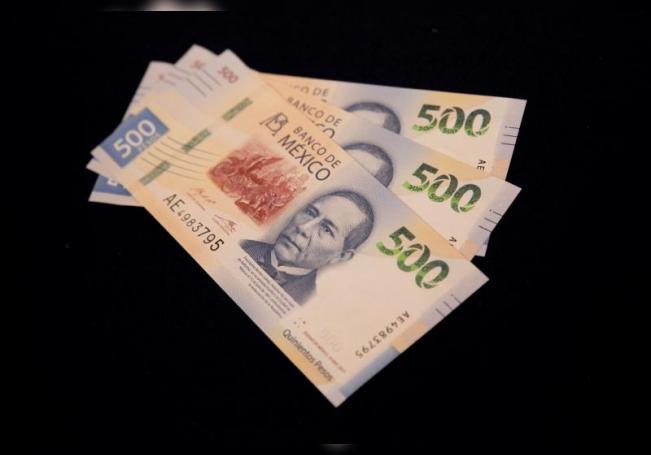 Vista del nuevo billete de 500 pesos que fue presentado el lunes 27 de agosto de 2018, en Ciudad de México (México). EFE/Sáshenka Gutiérrez/Archivo