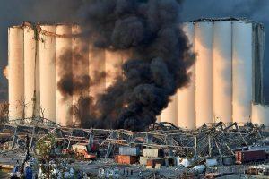 Fuerte explosión sacude Beirut