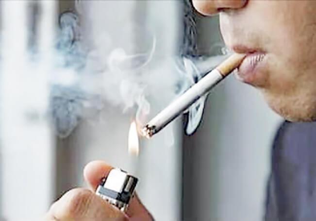 La pandemia hizo que muchos le bajaran a la fumadera.