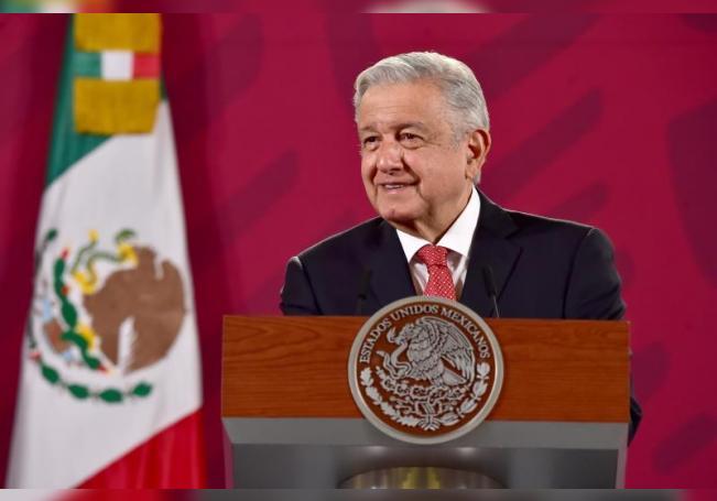 El presidente de México,Andrés Manuel López Obrador ofrece una rueda de prensa matutina hoy, en el Palacio Nacional, en Ciudad de México(México). EFE/ Presidencia SOLO USO EDITORIAL NO VENTAS