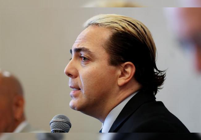 En la imagen, el cantante y actor Cristian Castro. EFE/David Fernández/Archivo