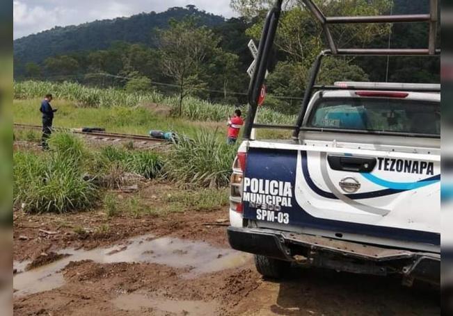 Vista general del sitio donde el periodista mexicano de nota roja, Julio Valdivia fue asesinado y decapitado hoy, miércoles en el estado de Veracruz. EFE/STR/MÁXIMA CALIDAD DISPONIBLE