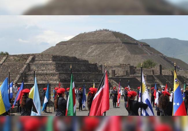 Vista general del 2 de junio de 2019 de las Piramdedes de Teotihuacán (México). EFE/ Mario Guzmán/ARCHIVO