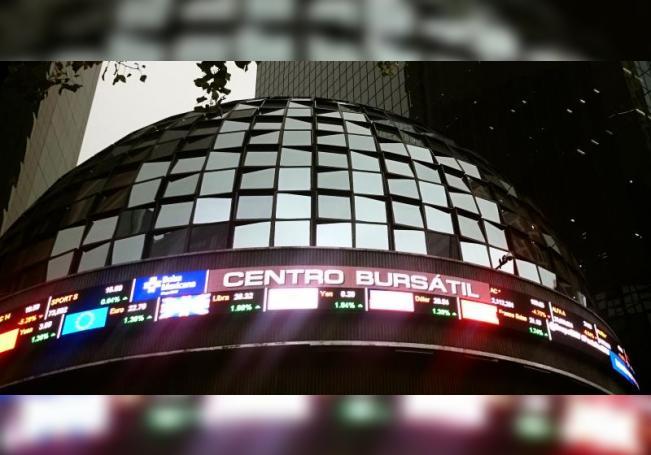 Vista de un tablero de la Bolsa de Valores de México. EFE/Jorge Núñez/Archivo
