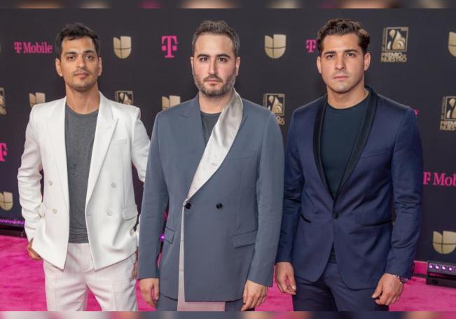 Los integrantes de la banda mexicana Reik en el American Airlines Arena de la ciudad de Miami (EE.UU.). EFE/ Giorgio Viera/Archivo