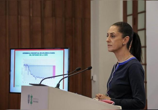 La jefa de Gobierno de la Ciudad de México, Claudia Sheinbaum. EFE/José Pazos/Archivo