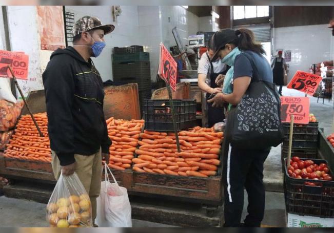 Fotografía que muestra una vista general del mercado de la Central de Abasto, en Ciudad de México (México). EFE/José Pazos/Archivo