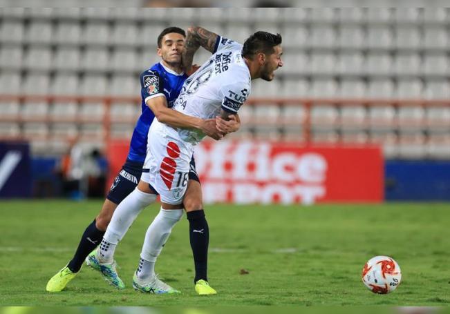 1-1. El argentino Sosa rescata empate para Pachuca ante el Monterrey