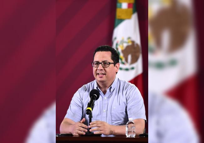 Fotografía cedida por la Secretaría de Salud de México que muestra al director de Epidemiología de la Secretaría de Salud, José Luis Alomía. EFE/ Secretaría De Salud SÓLO USO EDITORIAL/NO VENTAS