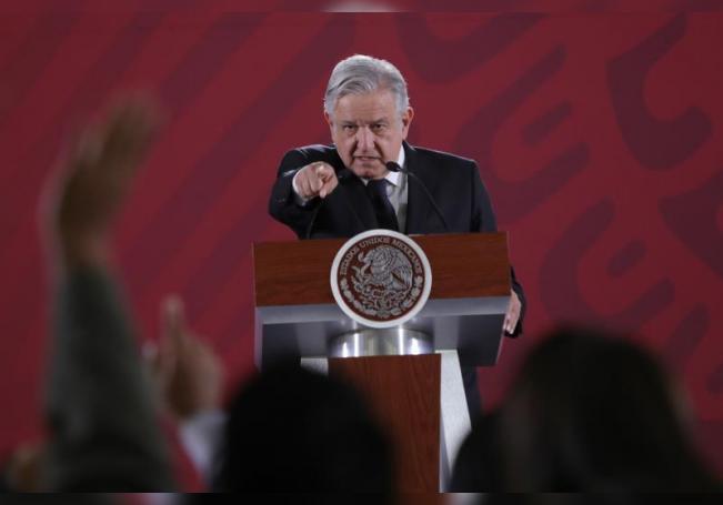 El presidente de México, Andrés Manuel López Obrador, comparece en rueda de prensa en el Palacio Nacional, en Ciudad de México (México). EFE/ Sáshenka Gutierrez/Archivo