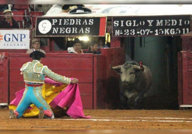 Este sábado, en Tlaxcala, se celebra un festejo en el que los toros de Piedras Negras son los protagonistas ya que el legendario hierro cumple 150 años. EFE/Archivo