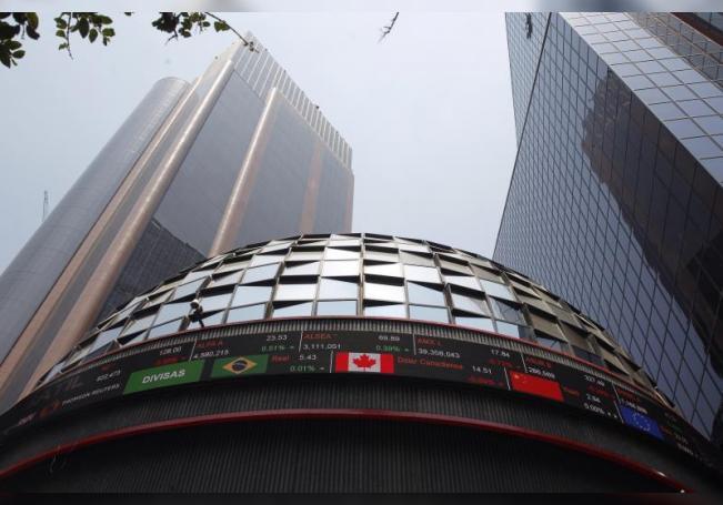 La bolsa mexicana baja un 0,31 % en una jornada marcada por una alta liquidez