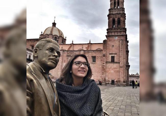 Fotografía cedida hoy por la periodista Eirinet López, quien desempeña su profesión en uno de los sitios más peligrosos para ejercer el periodismo: el estado de Veracruz (México). EFE/Eirinet López /SOLO USO EDITORIAL /NO VENTAS