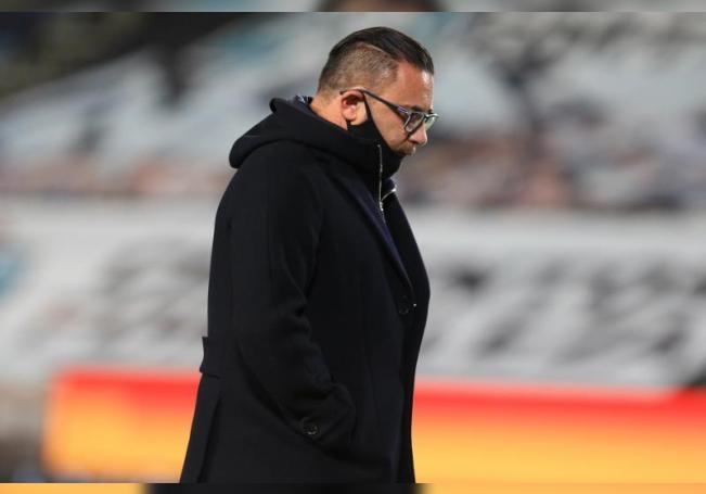 El entrenador de Monterrey, Antonio Mohamed. EFE/ Archivo