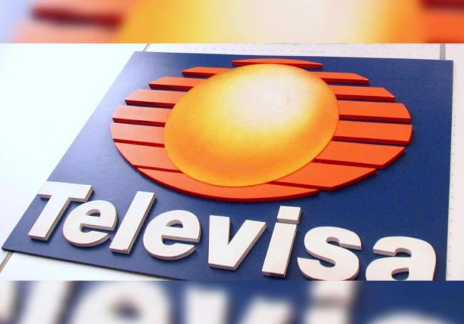 Vista del logo de la empresa Televisa. EFE/STR