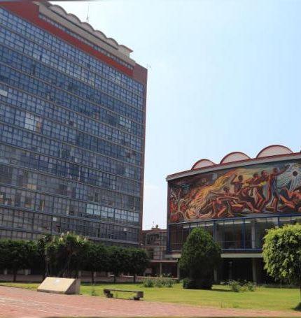 Fotografía fechada el 29 de mayo de 2020, donde se observa una vista general de las instalaciones de la Universidad Nacional Autónoma de México (UNAM), la cual permanece cerrada a la comunidad estudiantil, en Ciudad de México (México). EFE/Sáshenka Gutiérrez/Archivo