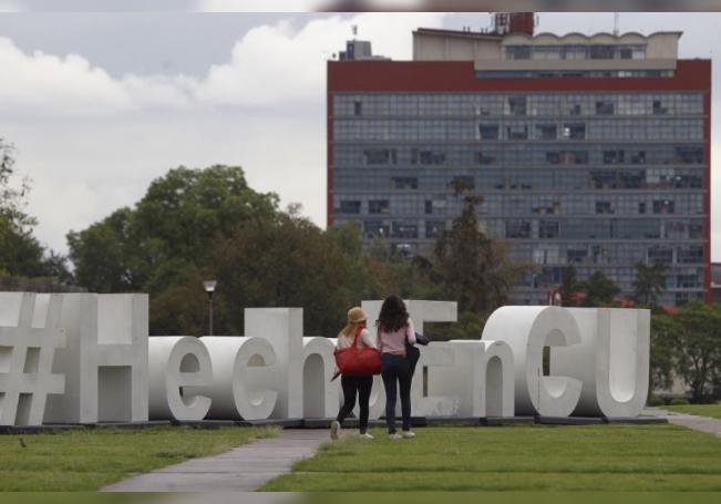 Fotografía que muestra una vista general de una explanada de la Universidad Nacional Autónoma de México (UNAM), en Ciudad de México (México). EFE/Sáshenka Gutiérrez/Archivo