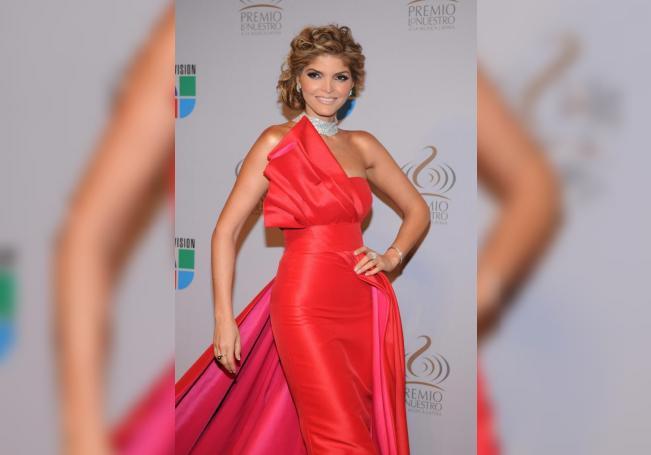 La cantante Ana Bárbara posa el jueves 18 de febrero de 2010, en la alfombra roja de los Premios Lo Nuestro, que celebró lo mejor de la música latina, en Miami (EEUU). EFE/Yamila Lomba/Archivo