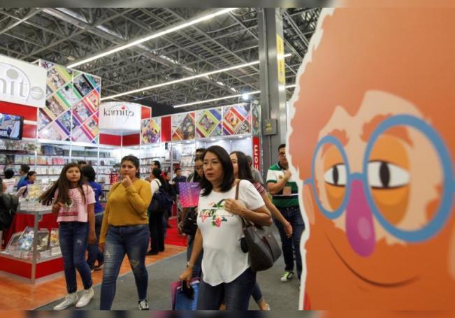 Feria Internacional del Libro de Guadalajara. EFE/Francisco Guasco/ Archivo