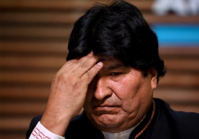 Por primera vez en treinta años Evo Morales no figura en las elecciones en Bolivia.