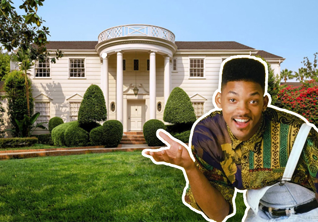 """Por 30 dólares la noche podrás dormir en la mansión de """"El Príncipe del Rap""""."""