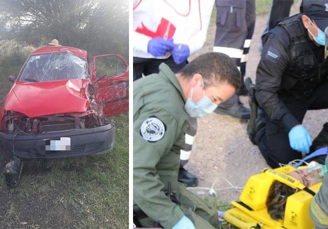 Siete lesionados fue el saldo del accidente, 3 de ellos de gravedad.