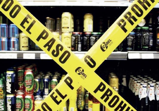 5 tiendas de abarrotes suspendidas por desacatar Ley Seca.