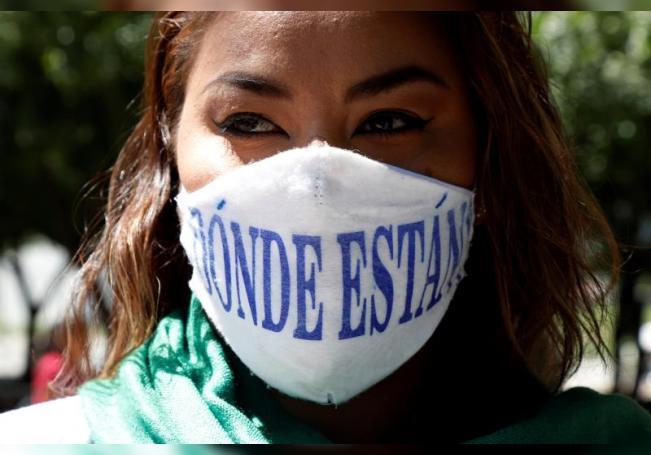 Familias mexicanas recuperan a sus hijos desaparecidos en fragmentos