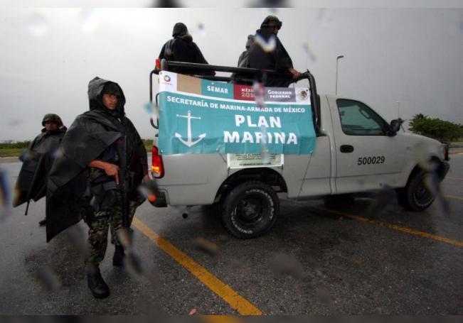 Acusan a marinos mexicanos de asesinato de cuatro personas en 2019 en Puebla