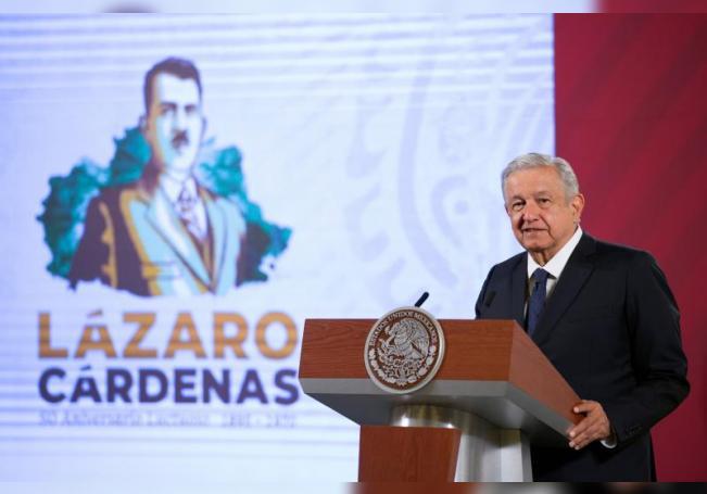 López Obrador vindica nacionalismo de Cárdenas para su proyecto de país