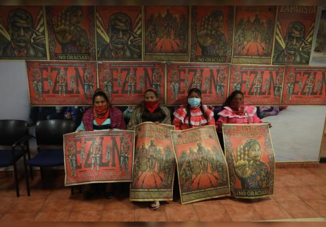 Indígenas otomíes alzan la voz con la toma de una sede del Gobierno de México