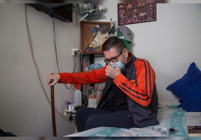 """""""Estar vivo me pone muy sensible"""", dice diabético mexicano curado de covid-19"""
