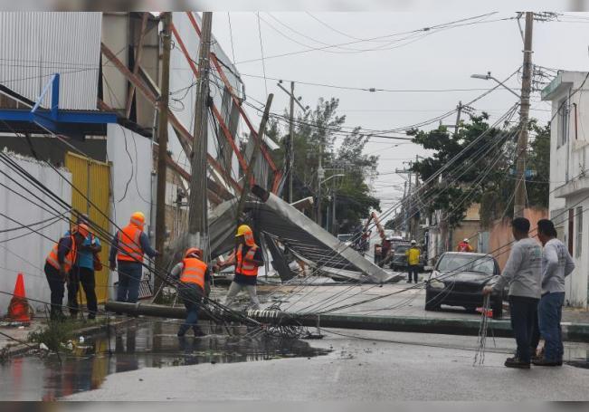 El Caribe mexicano resiente el impacto de Zeta, el segundo ciclón en un mes
