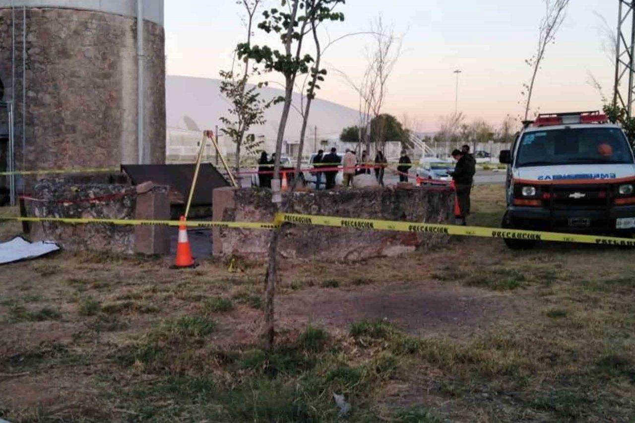 Se han presentado varias dificultades para llevar a cabo la búsqueda de restos en el pozo del velódromo.