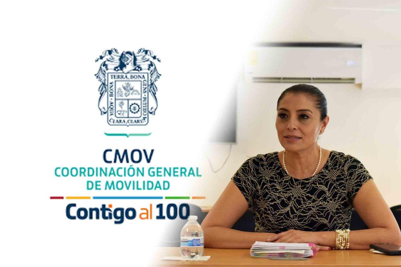 Griselda González Morales fue cesada de su cargo al frente de la Coordinación General de Movilidad.