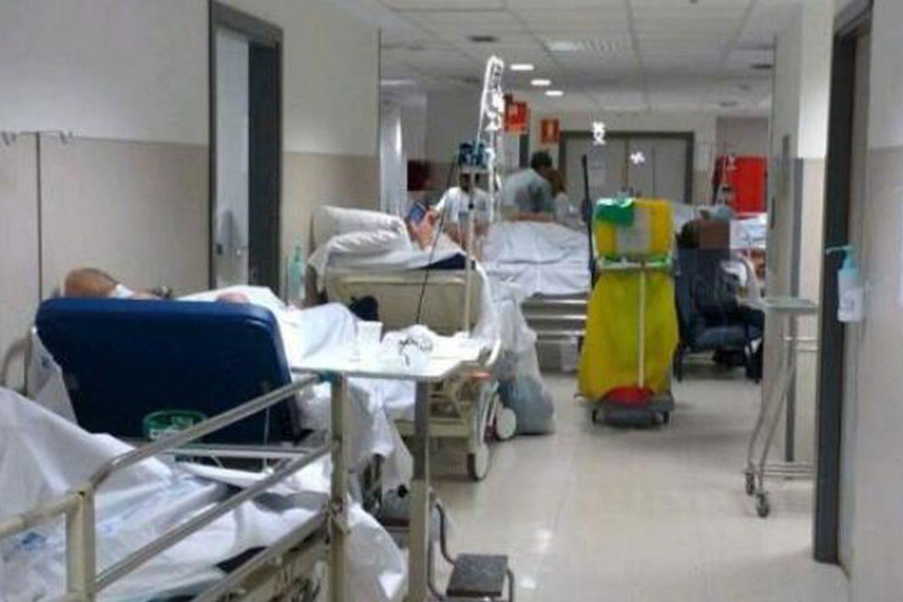 La capacidad de los hospitales está rebasada.