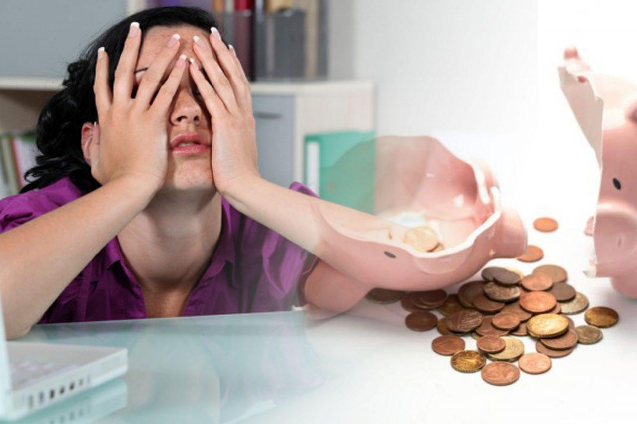 Fondo de ahorros, gente, crisis económica.