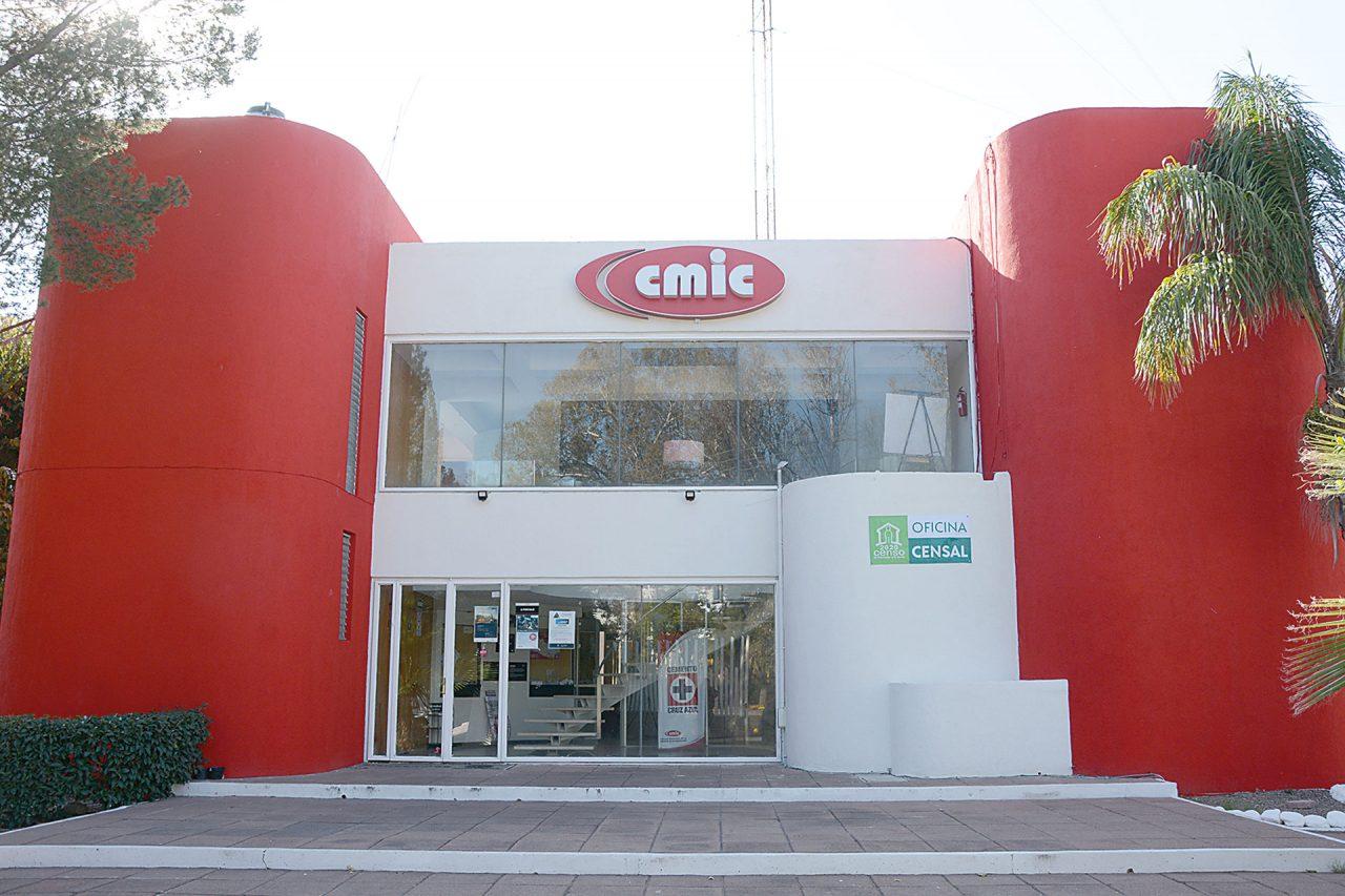 Las instalaciones de la Cámara Mexicana de la Industria de la Construcción.