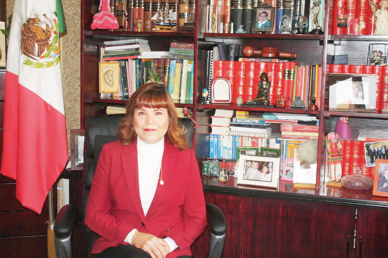 La magistrada Gabriela Espinosa Castorena.