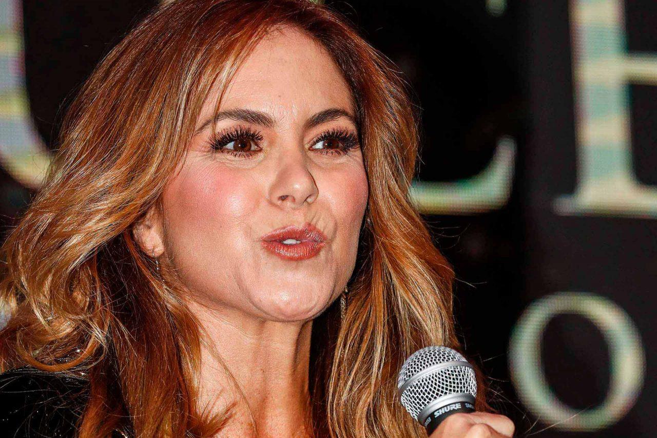 La cantante mexicana Lucero