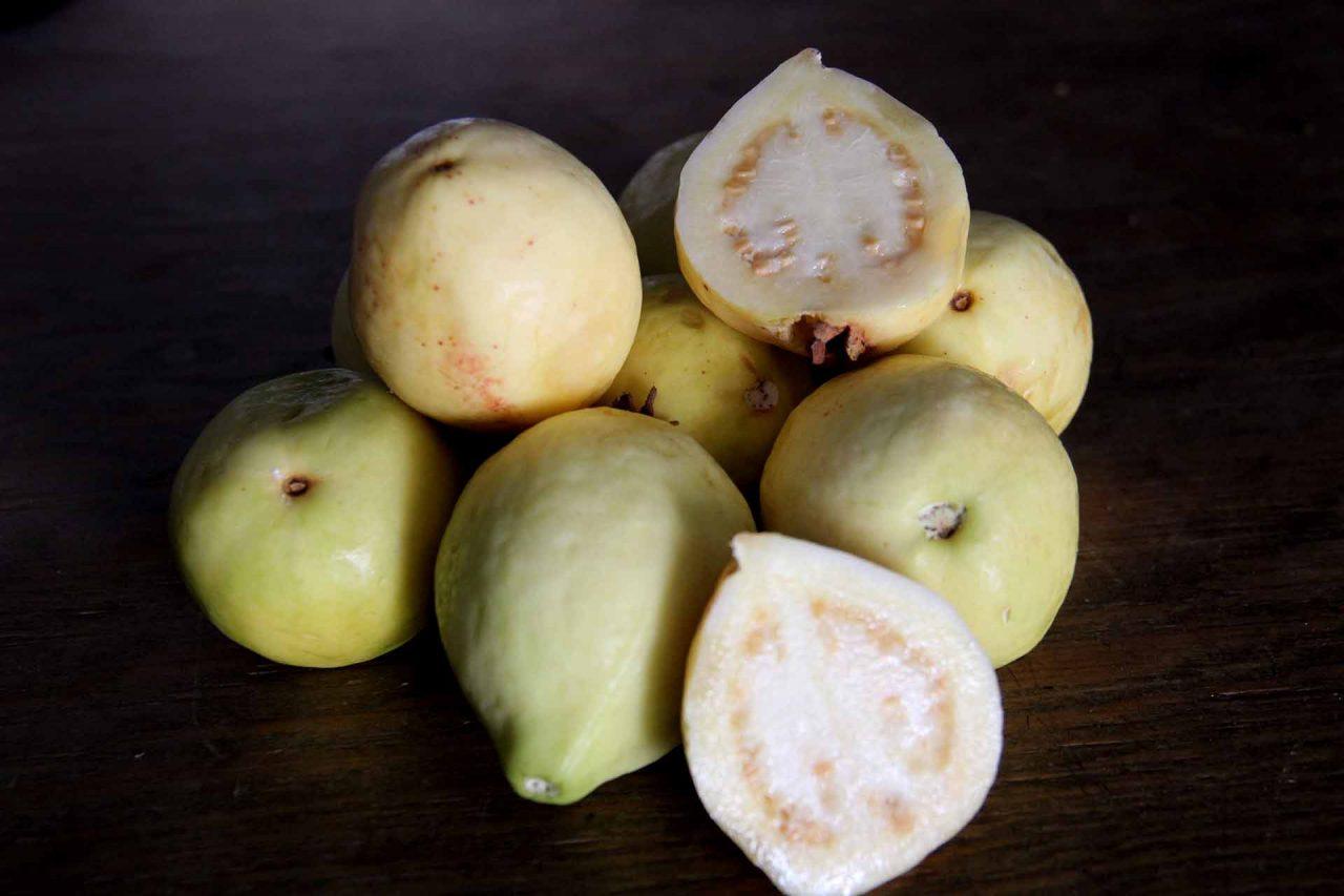 Las guayabas son fuente alta de vitamina C