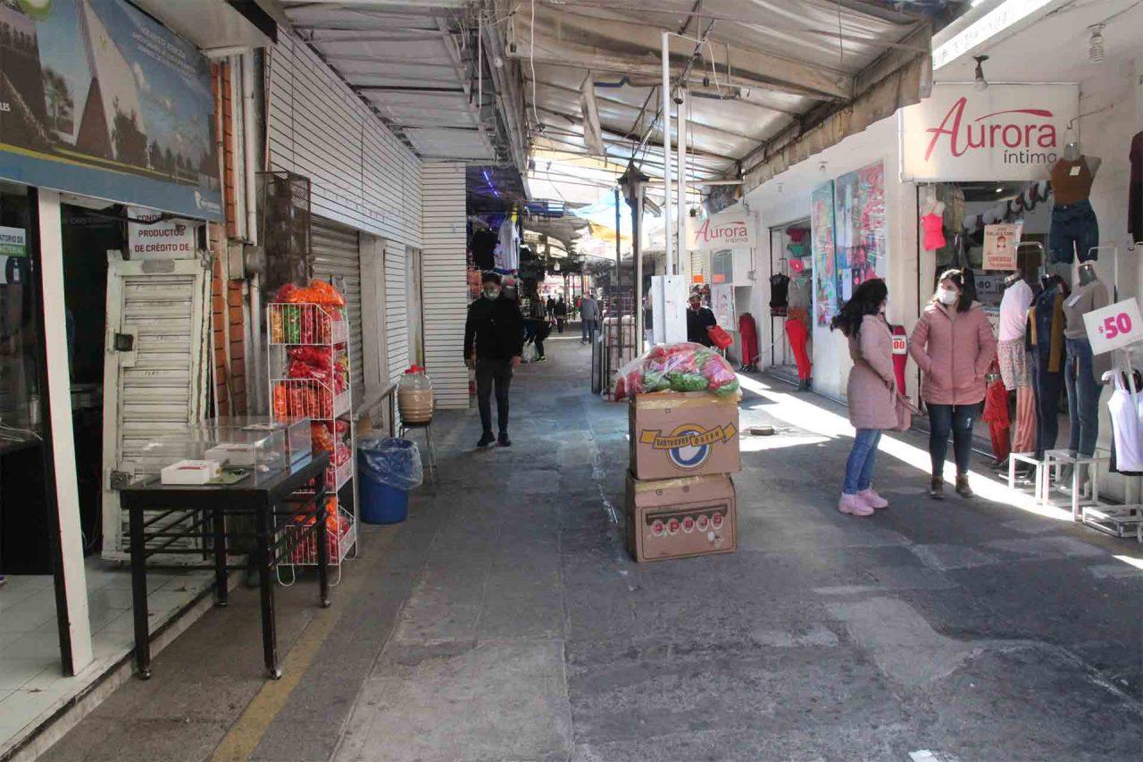 ACOCEN, Comerciantes, Zona Centro.