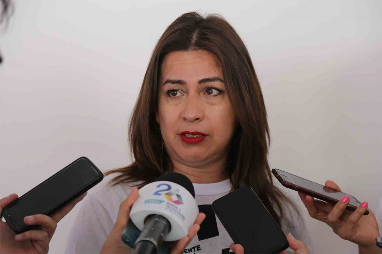 Susan Muñoz, precandidata a diputada federal por el PRD.