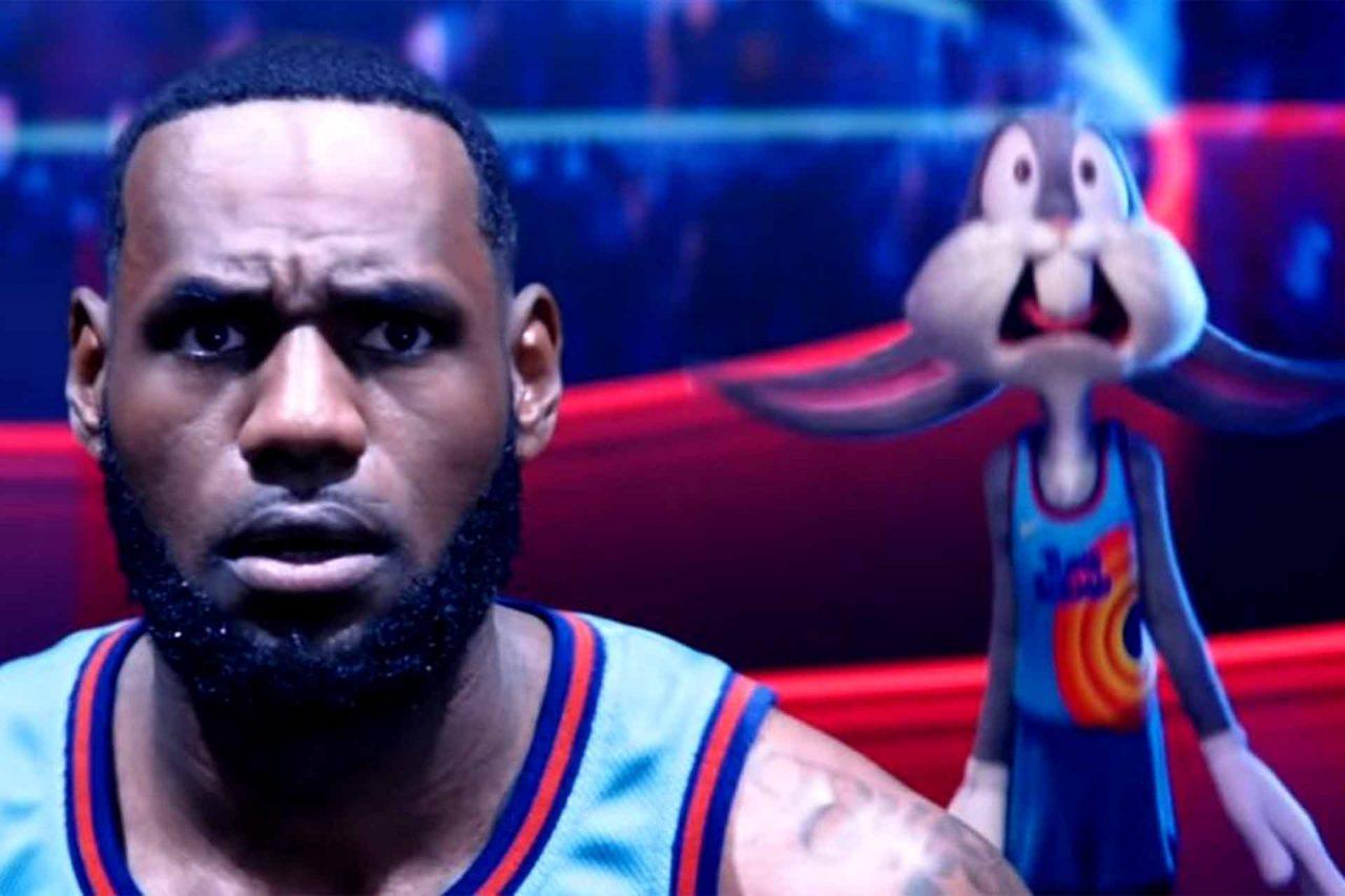 Primera imagen de LeBron James en la película Space Jam 2
