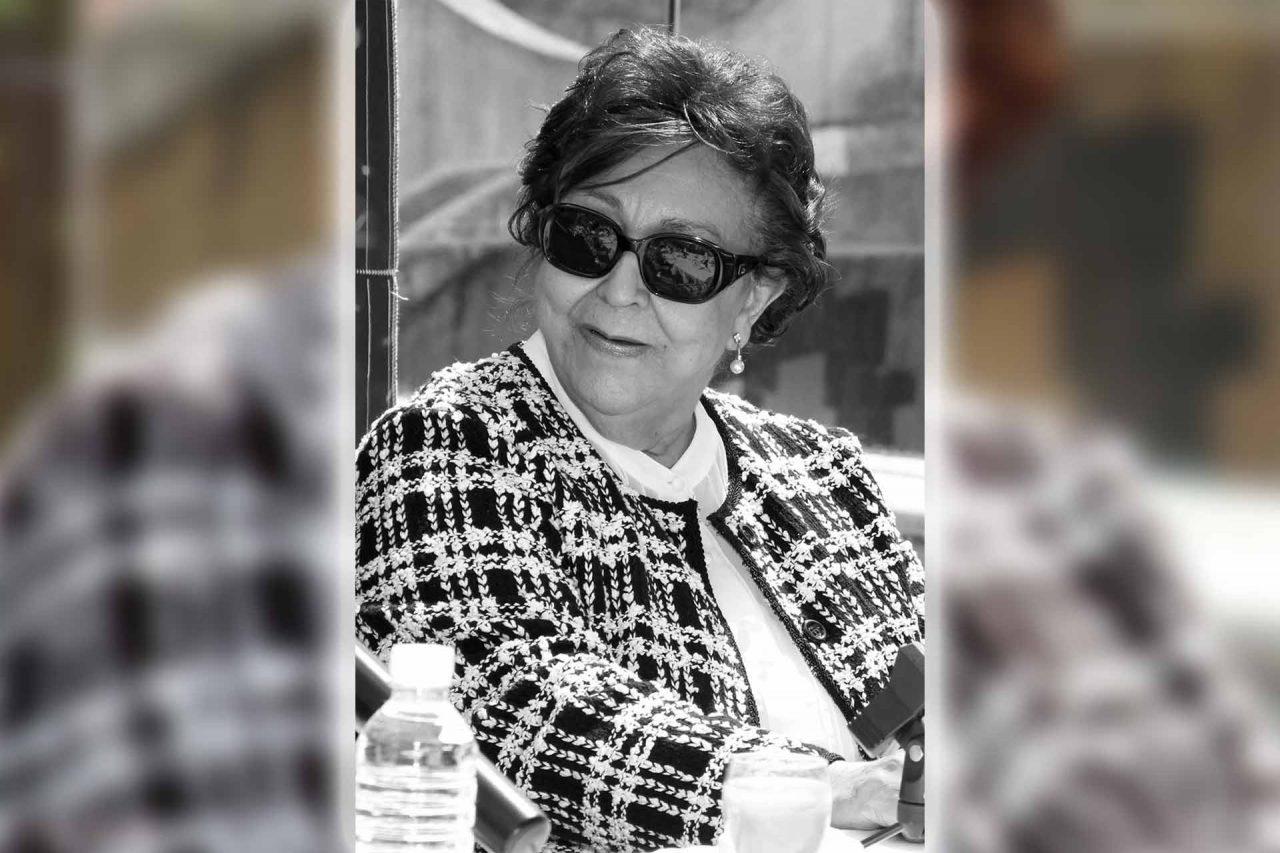La dramaturga y escritora de telenovelas Marissa Garrido.