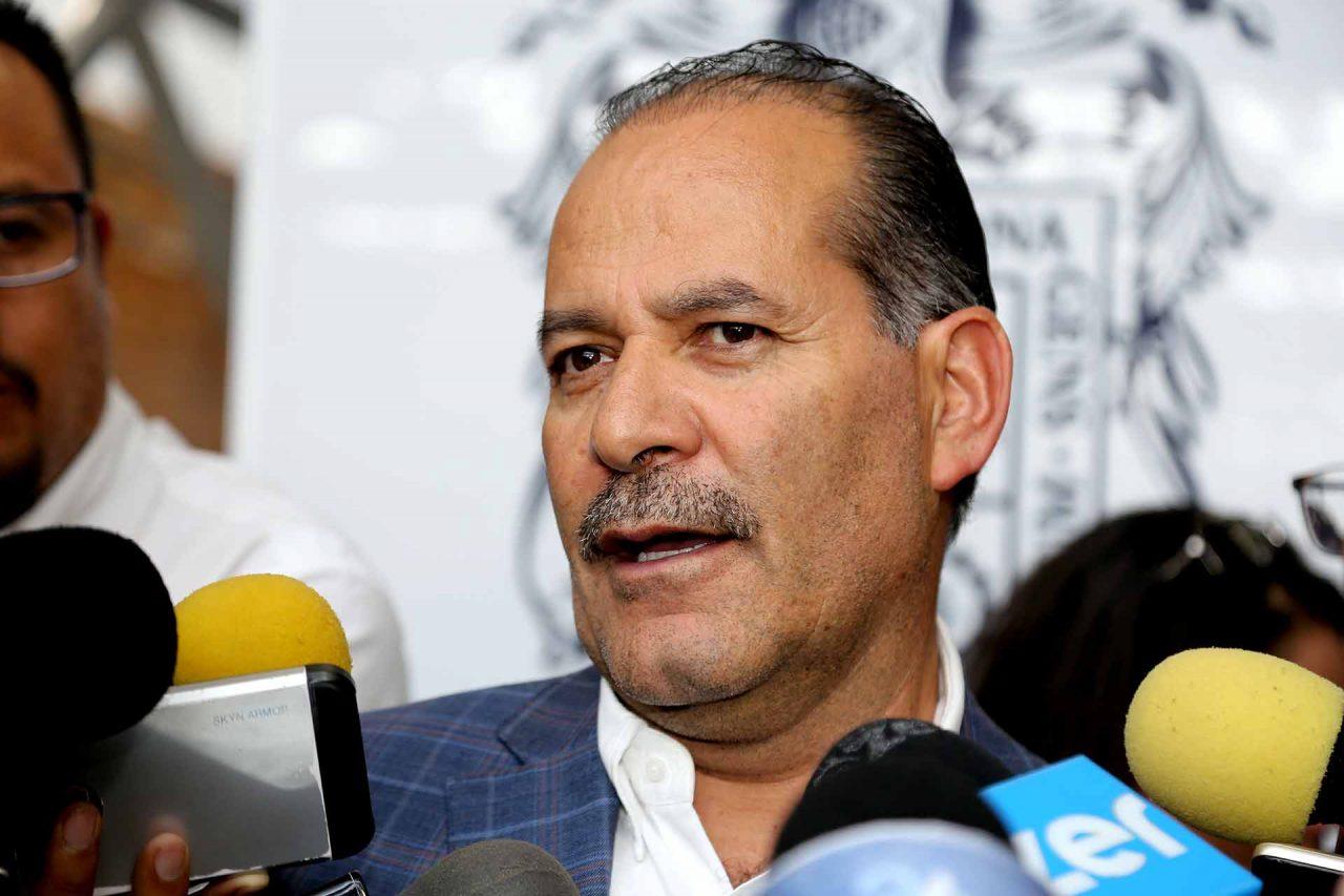 El gobernador de Aguascalientes, Martín Orozco