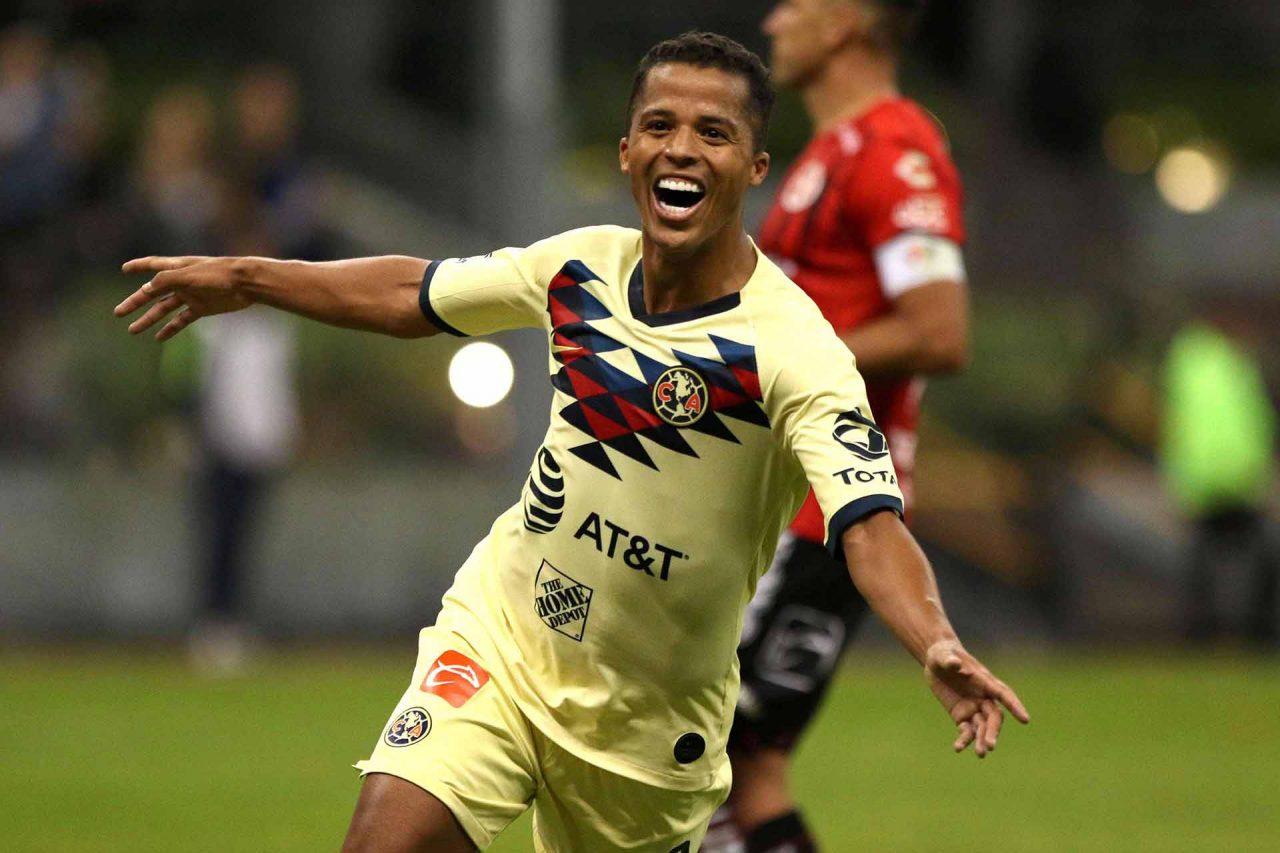 El futbolista del América, Giovani Dos Santos